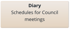 link to the council diary